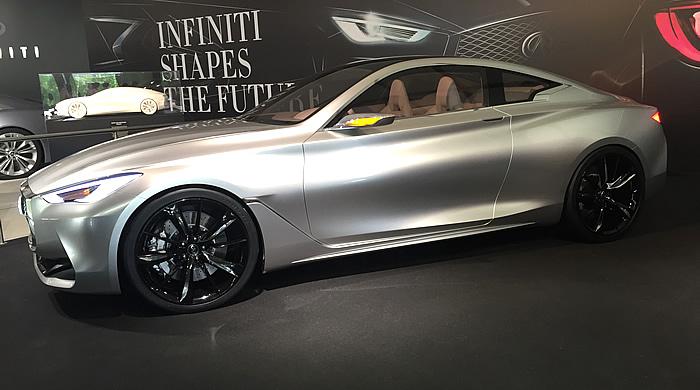 Le nouveau Coupé GT Q60, sortie automne 2016