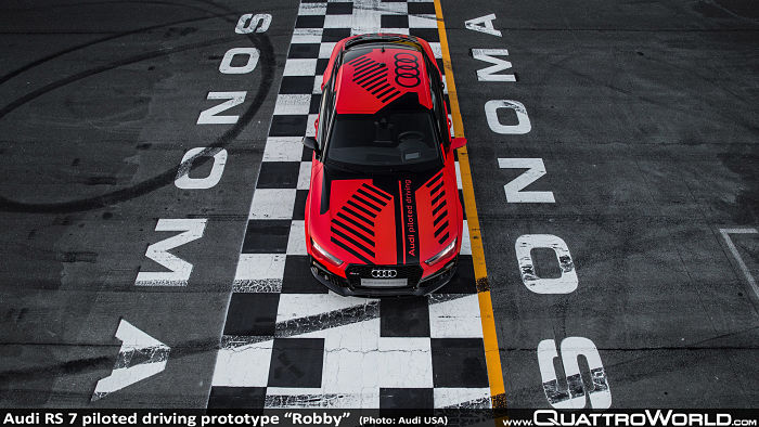 Robby, Audi RS7 piloted driving