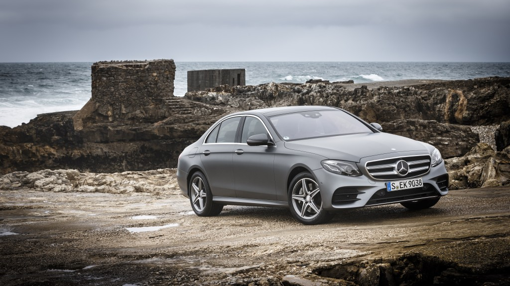 The new E-Class Press Test Drive, Lisbon 2016