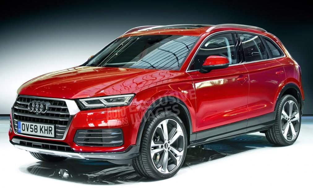 Audi Q5 2017 - Illustration basée sur les spyshots réalisée par Avarvarii pour Auto Express