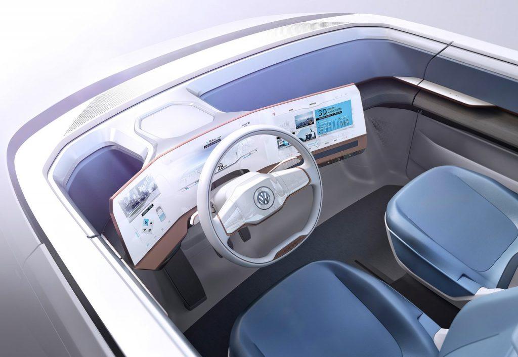 Volkswagen Budd-e Concept / Interieur