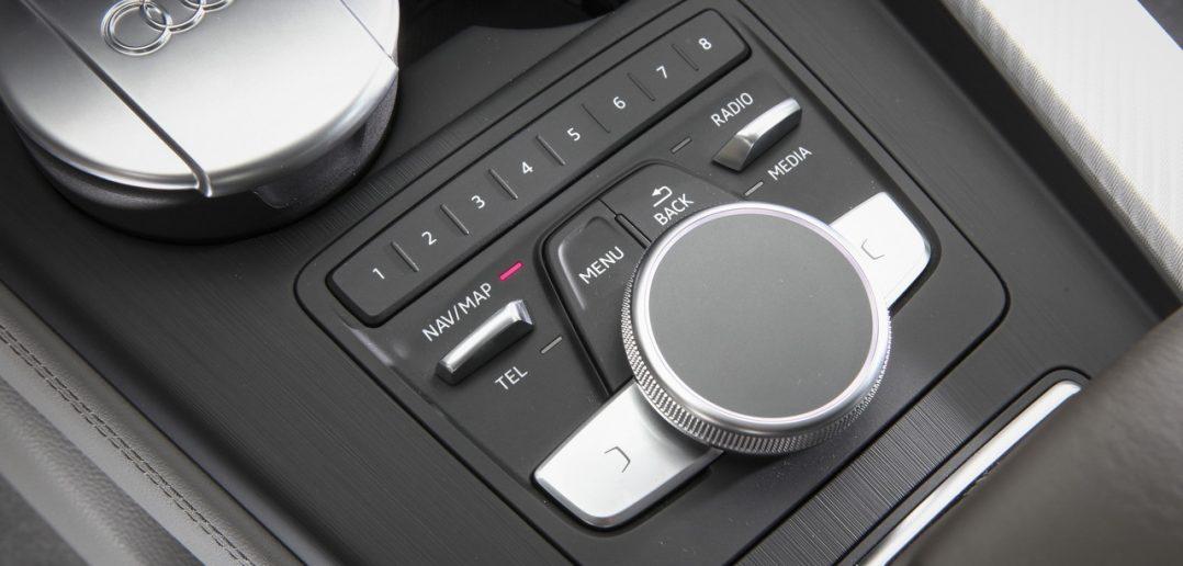 Molette tactile du système MMI Touch de la dernière Audi A4