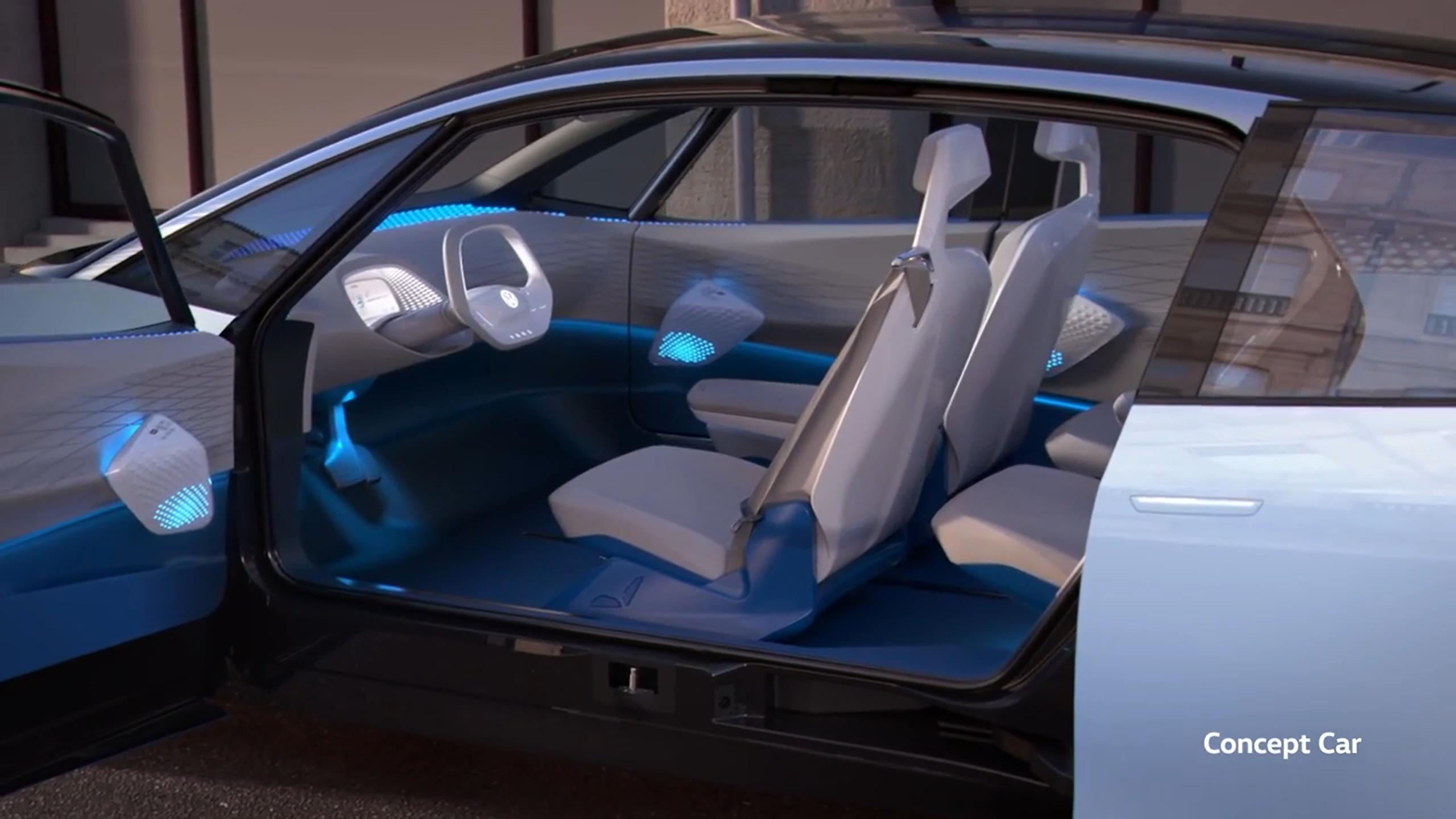 Mondial 2016 : Volkswagen I.D. concept : Das Auto 3.0
