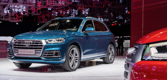 Mondial 2016 : Nouvel Audi Q5 : optimisation optimale