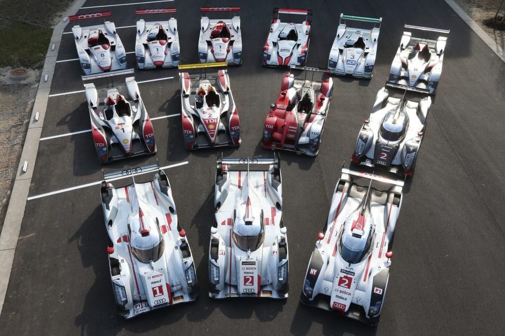 Porototypes Audi vaincqueurs aux 24H du Mans