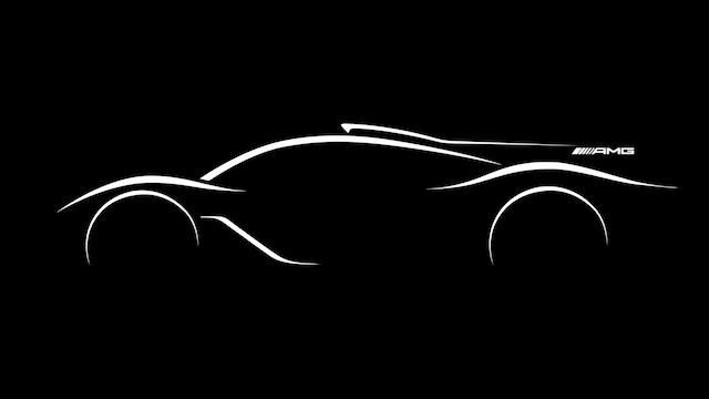 Première esquisse officielle de l'Hypercar Mercedes-AMG