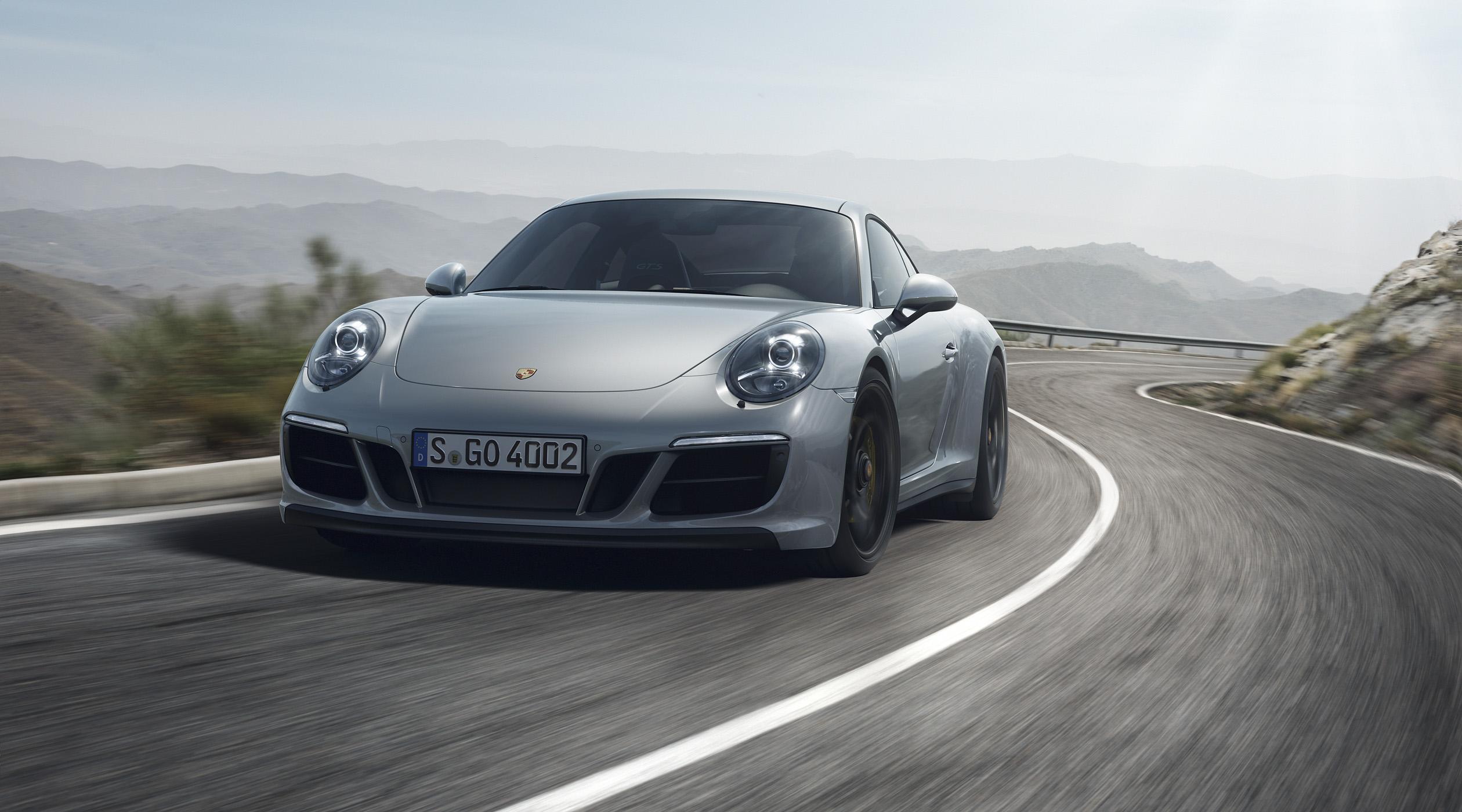 La Porsche 911 se décline en version GTS