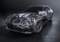 [Genève 2017] La Lexus LS 500h accueille le Multi Stage Hybrid System