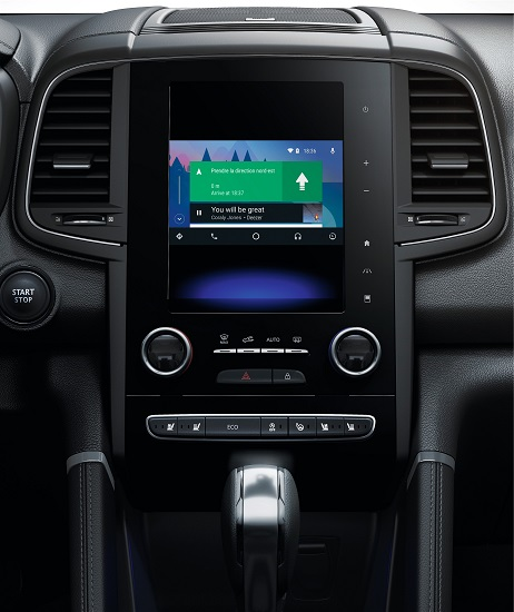 android auto et apple carplay embarquent dans les voitures renault. Black Bedroom Furniture Sets. Home Design Ideas