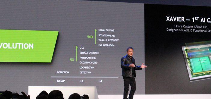 Voiture autonome : Nvidia et Bosch main dans la main