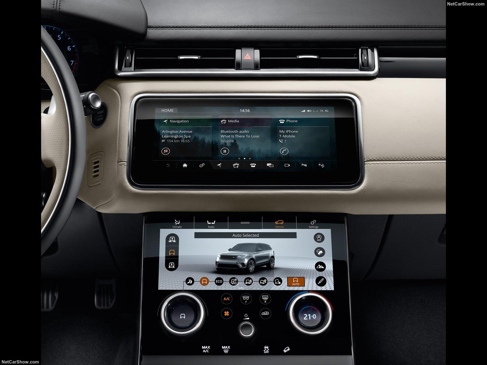 Gen ve 2017 range rover velar le suv premium innatendu for Interieur range rover velar