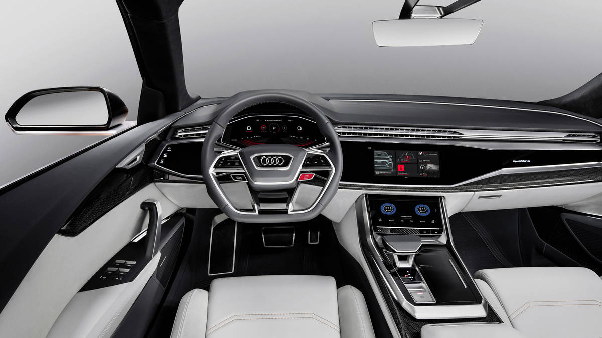 gen ve 2017 audi q8 sport concept le futur sq8 en approche. Black Bedroom Furniture Sets. Home Design Ideas