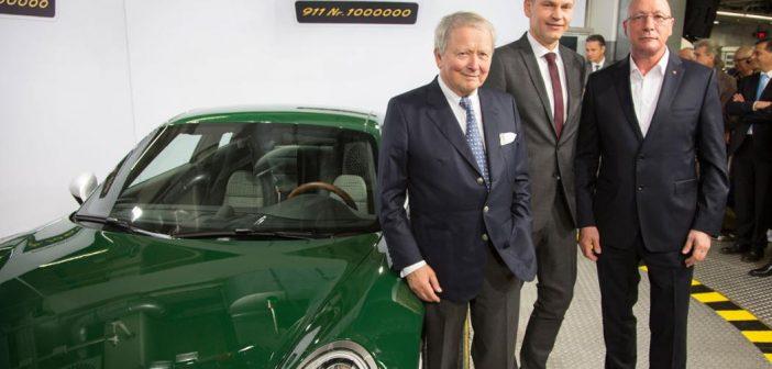 Porsche 911 : Le million, et un modèle unique !