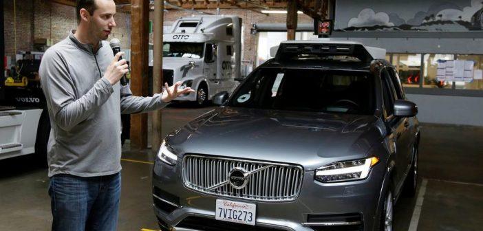 Uber continue son programme de pilote autonome, Waymo (Google) le concurrence avec Lyft