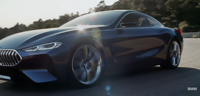 BMW Série 8 Concept : Retour vers le futur