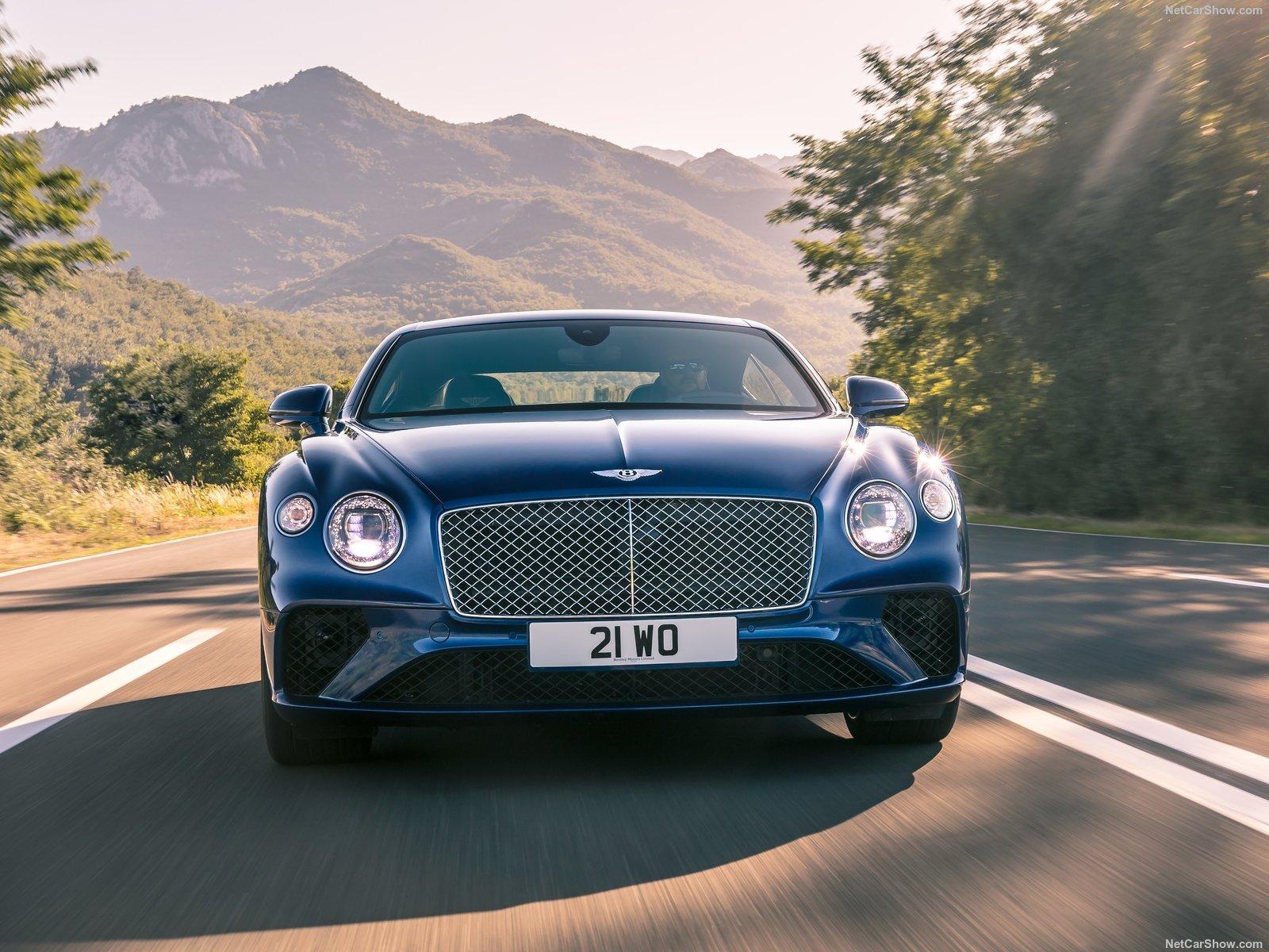 Francfort 2017] Bentley Continental GT plus fine plus lég¨re